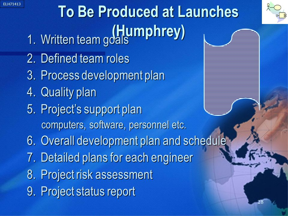 To Be Produced at Launches (Humphrey)
