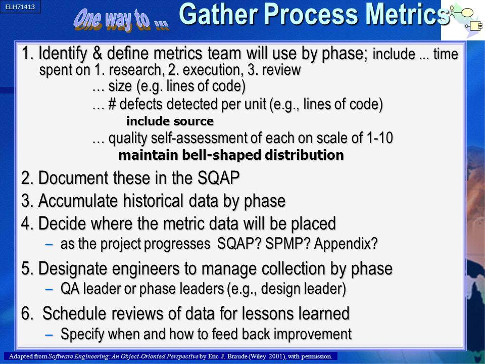 Gather Process Metrics