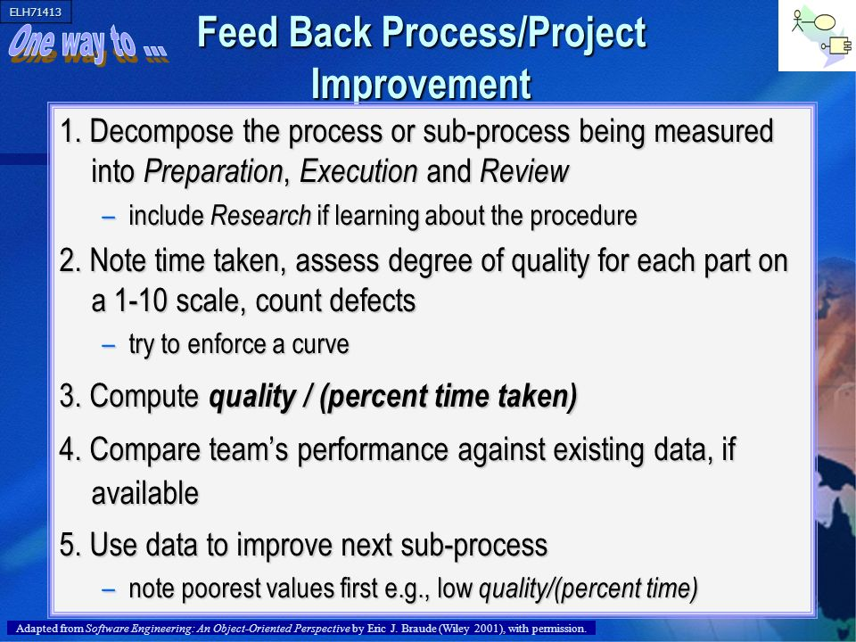 Feed Back Process/Project Improvement