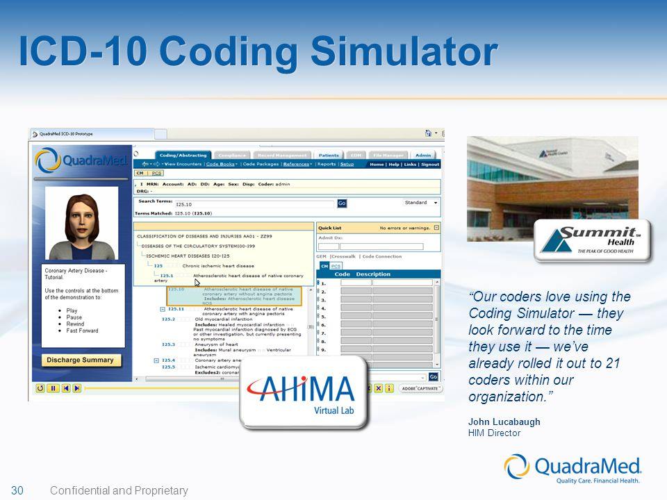 ICD-10 Coding Simulator