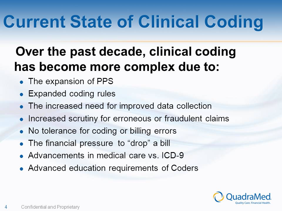 Current State of Clinical Coding