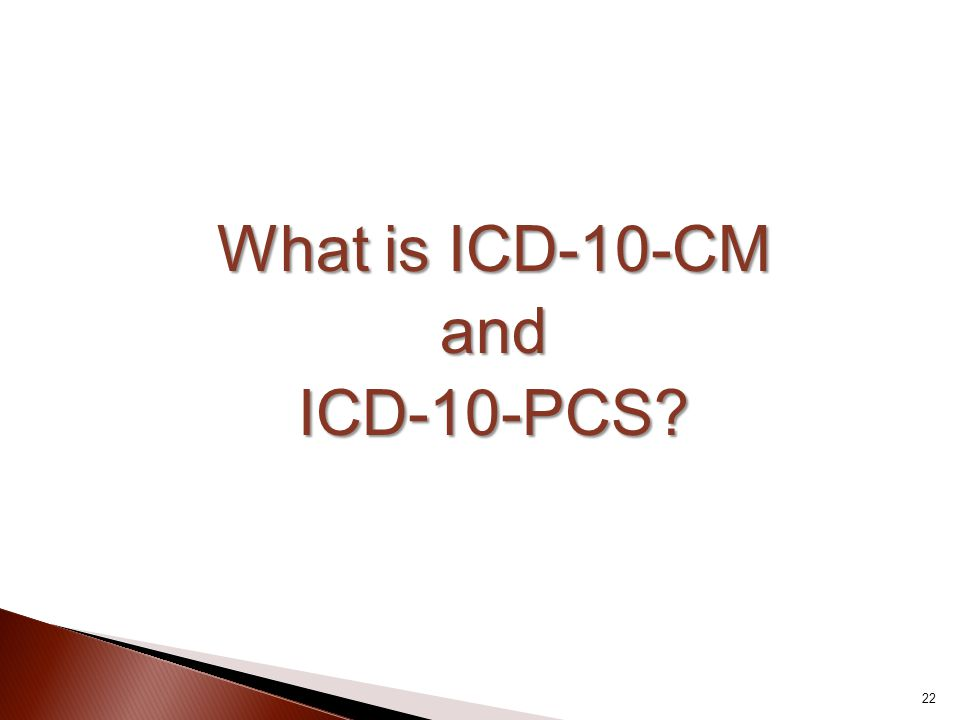 What is ICD-10-CM and ICD-10-PCS