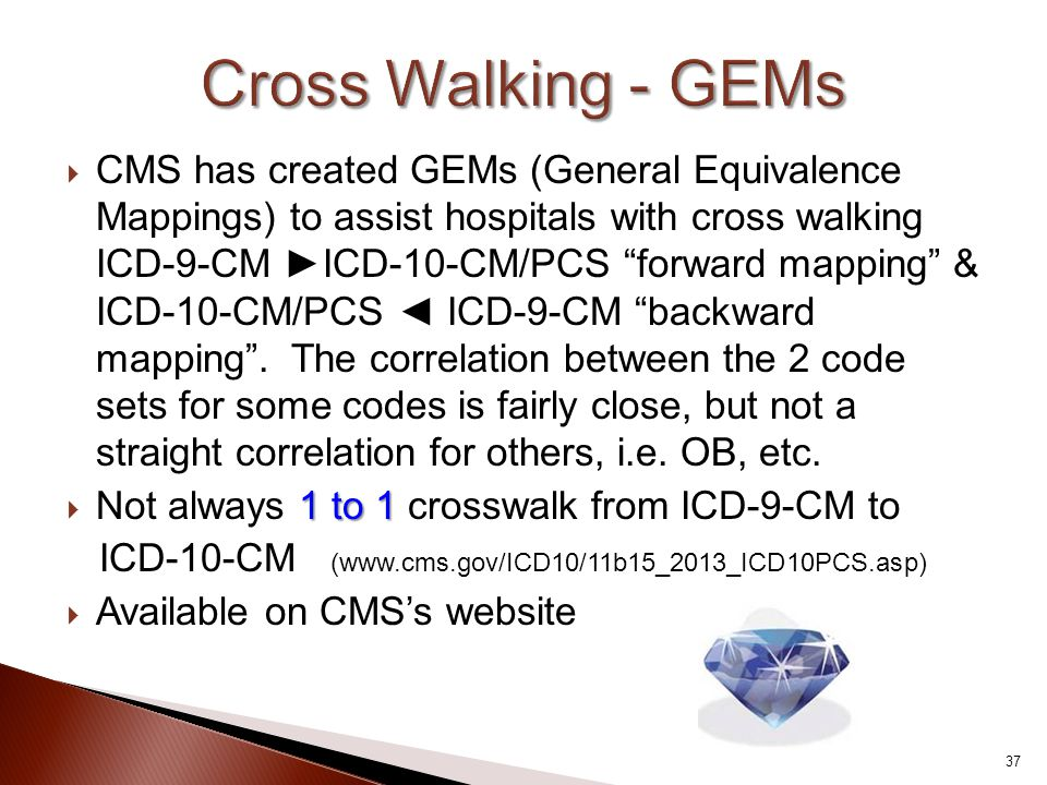 Cross Walking - GEMs