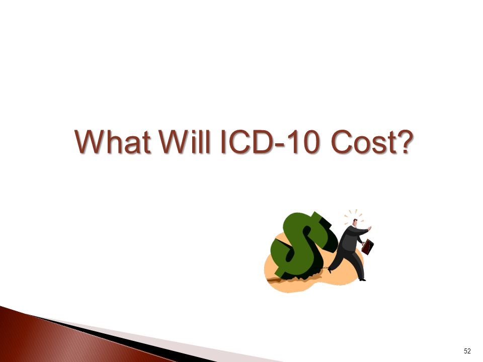 What Will ICD-10 Cost