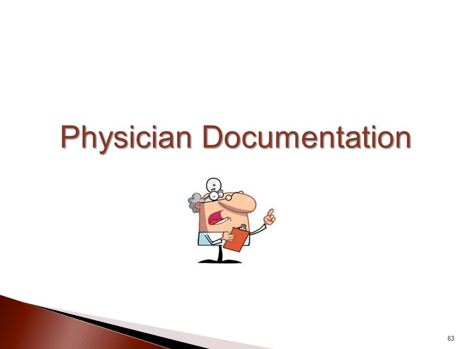 Physician Documentation