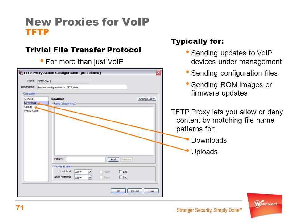 New Proxies for VoIP TFTP