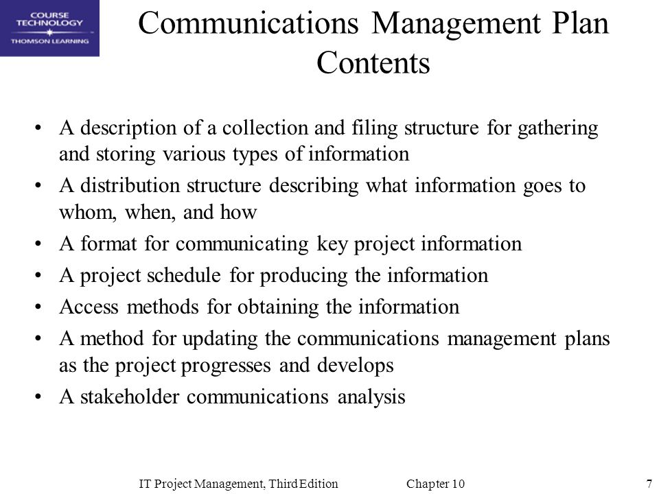 an analysis of key barriers to communication in project management Lesson 7: identify stakeholders 3 a key output of the identify stakeholders • pmbok guide – section 100 introduction project communication management.