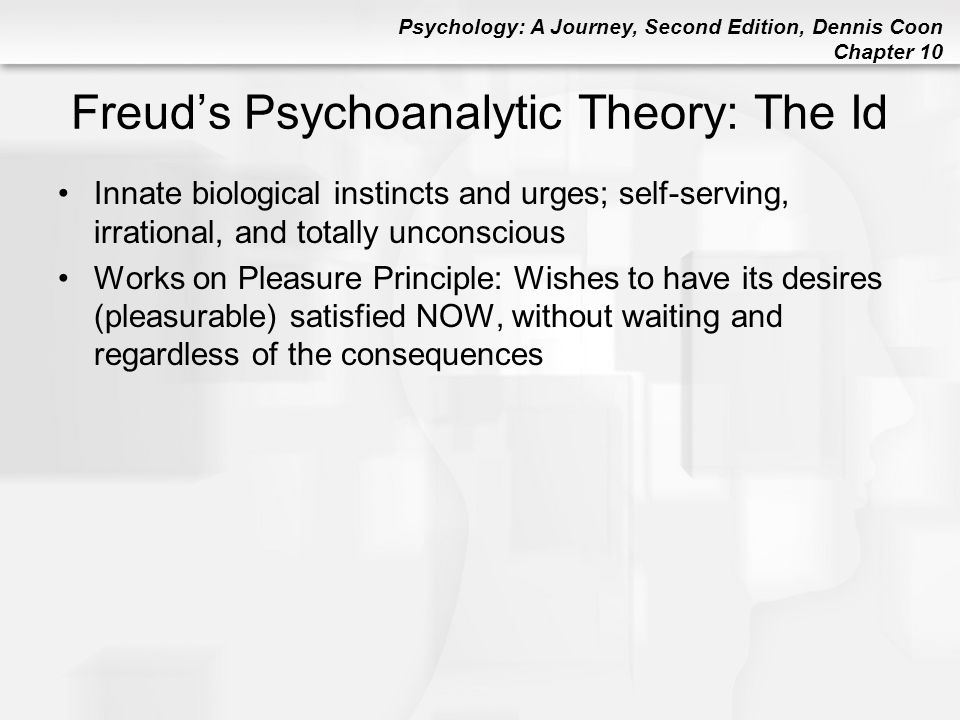 Freud's Psychoanalytic Theory: The Id