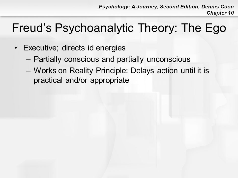 Freud's Psychoanalytic Theory: The Ego