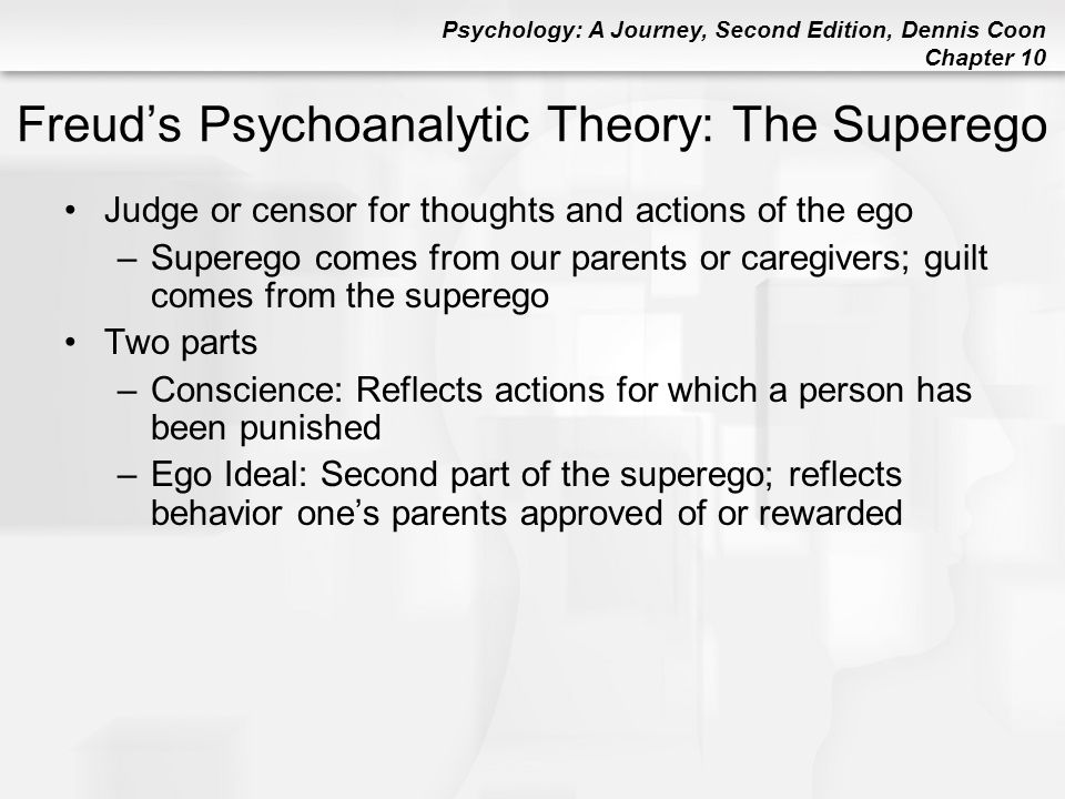 Freud's Psychoanalytic Theory: The Superego