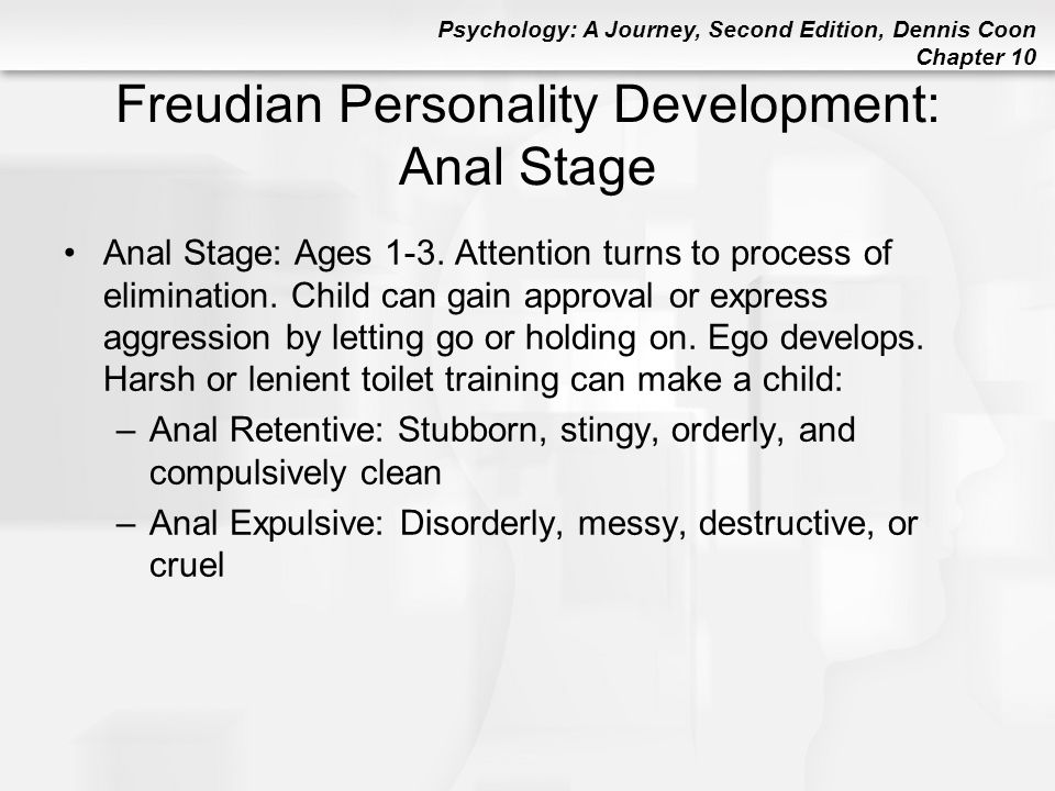 Freudian Personality Development: Anal Stage
