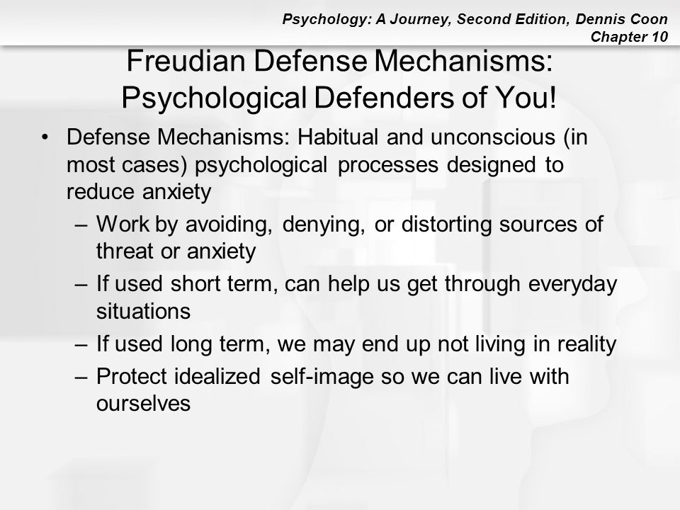 Freudian Defense Mechanisms: Psychological Defenders of You!