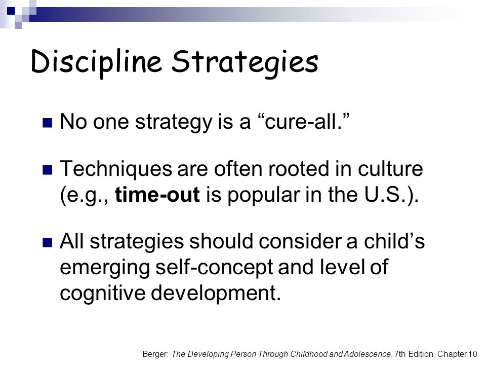 Discipline Strategies