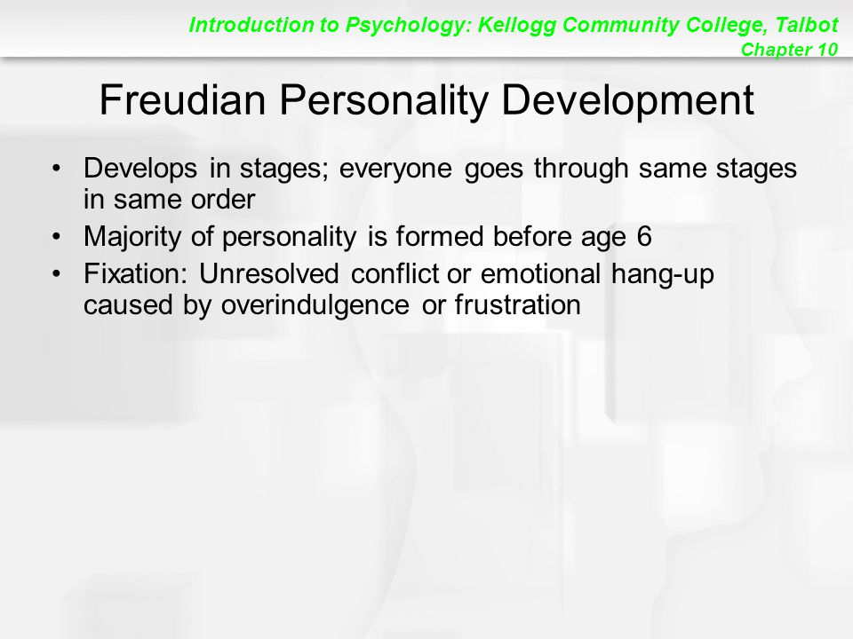 Freudian Personality Development
