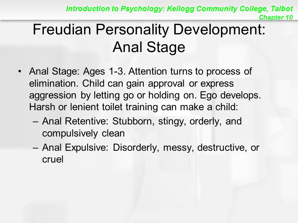 Freudian Personality Development: Anal Stage