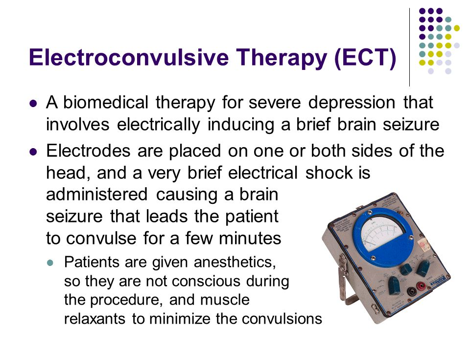 "electroconvulsive therapy for severe depression evaluation Ect remains the ""gold standard"" treatment for serious depression and, as such,  requires careful consideration as a therapeutic mo- dality such consideration is."