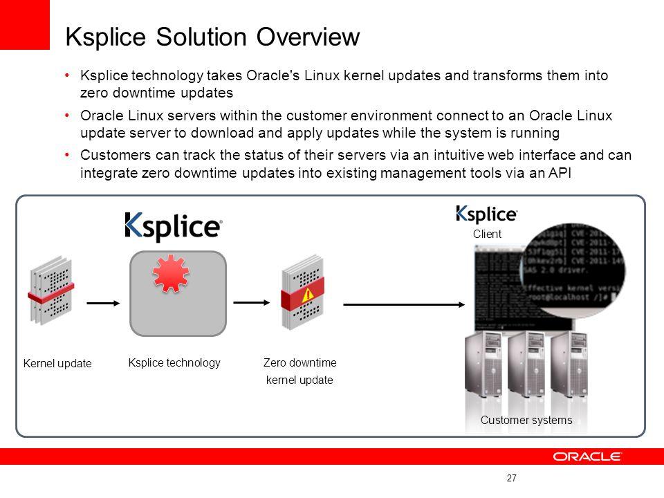 Ksplice Solution Overview