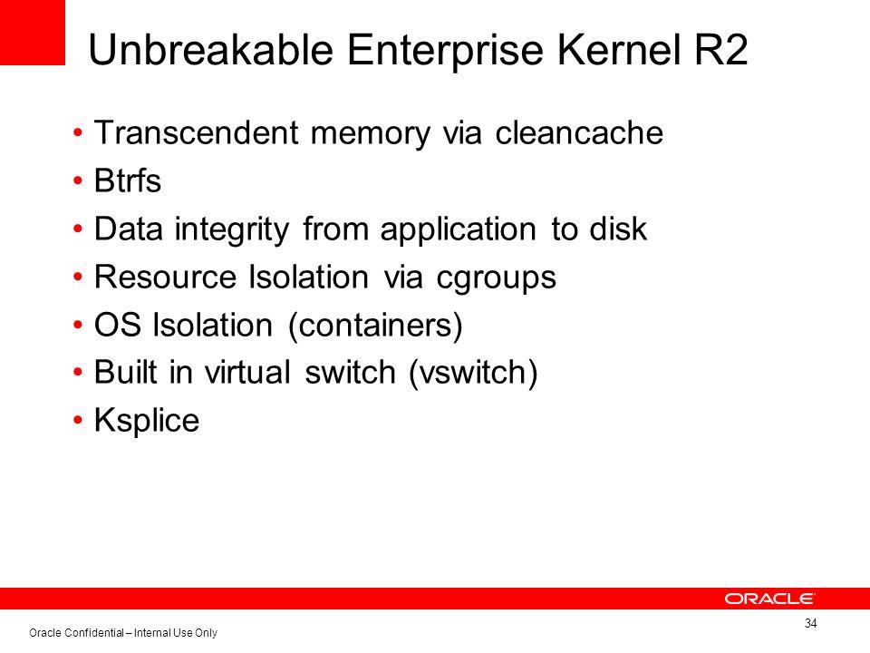 Unbreakable Enterprise Kernel R2