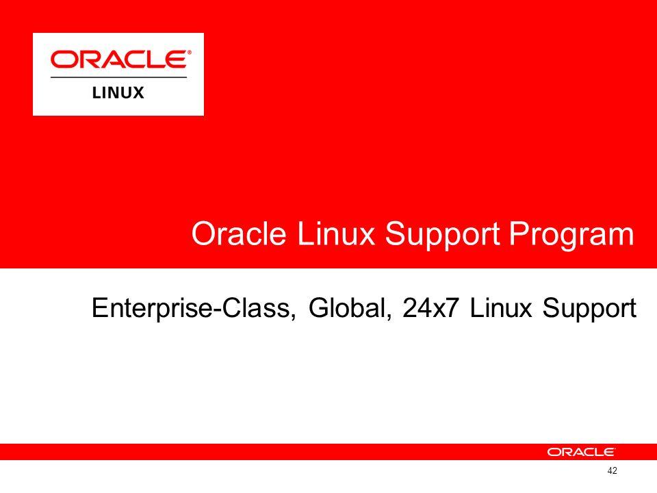 Enterprise-Class, Global, 24x7 Linux Support