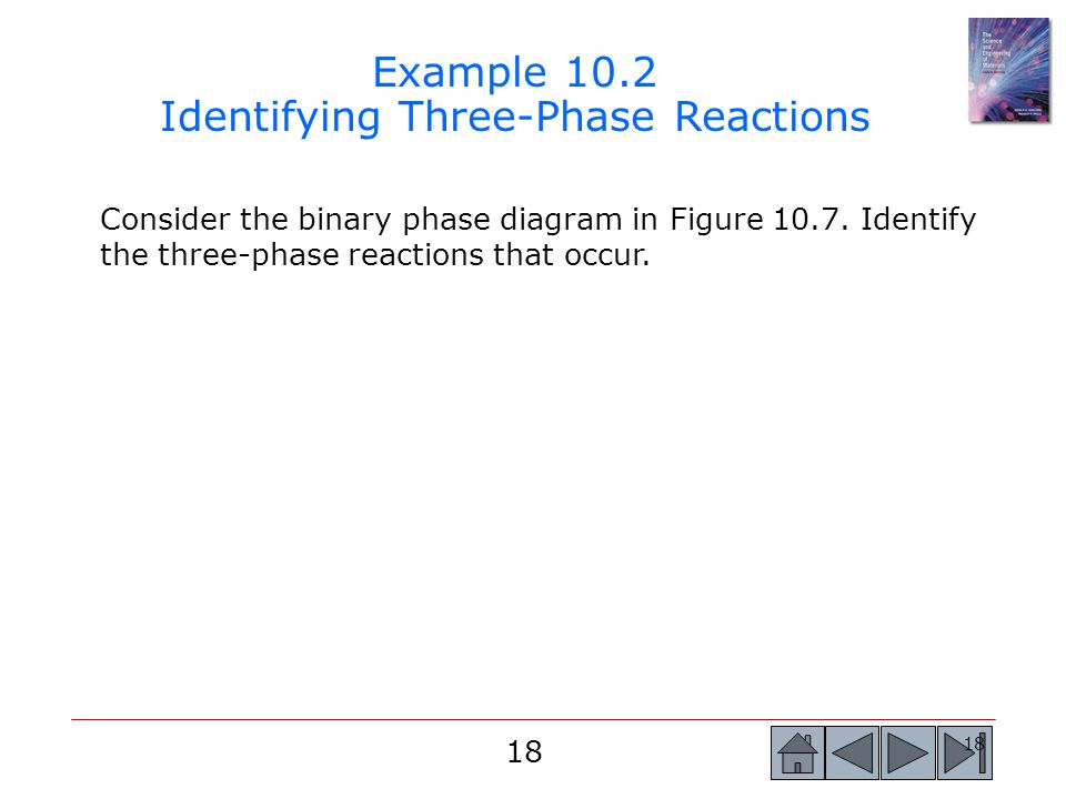 Example 10.2 Identifying Three-Phase Reactions