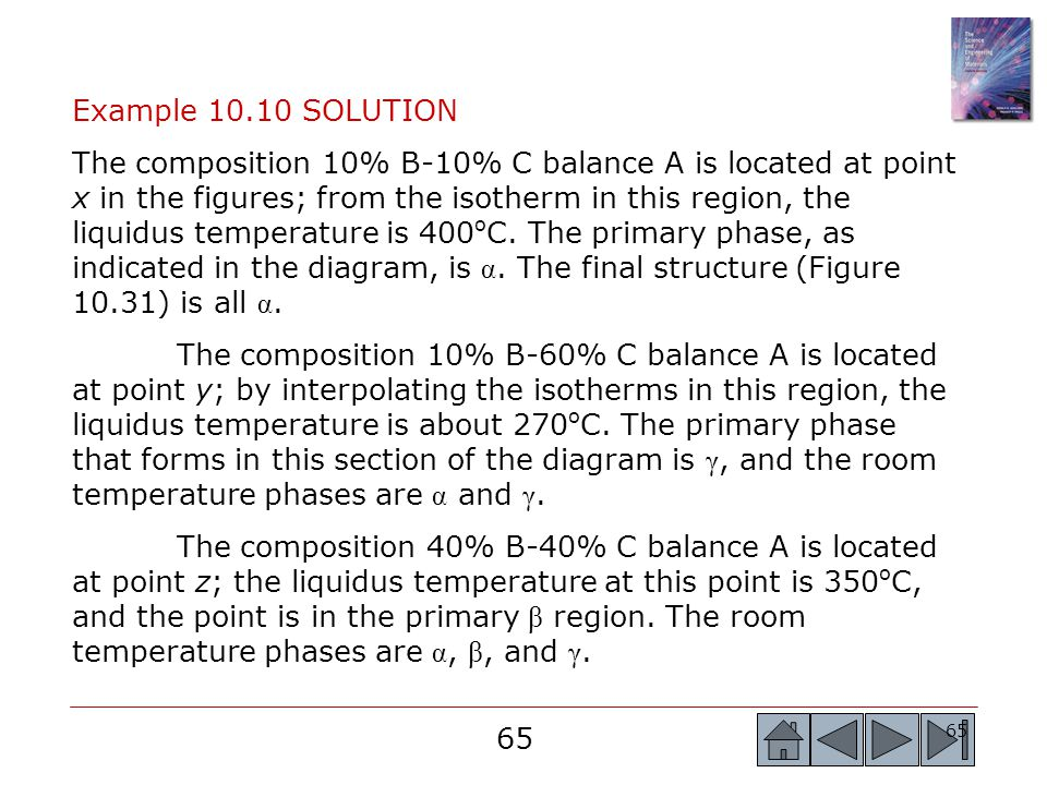Example 10.10 SOLUTION