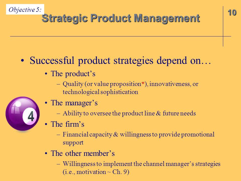 Strategic Product Management