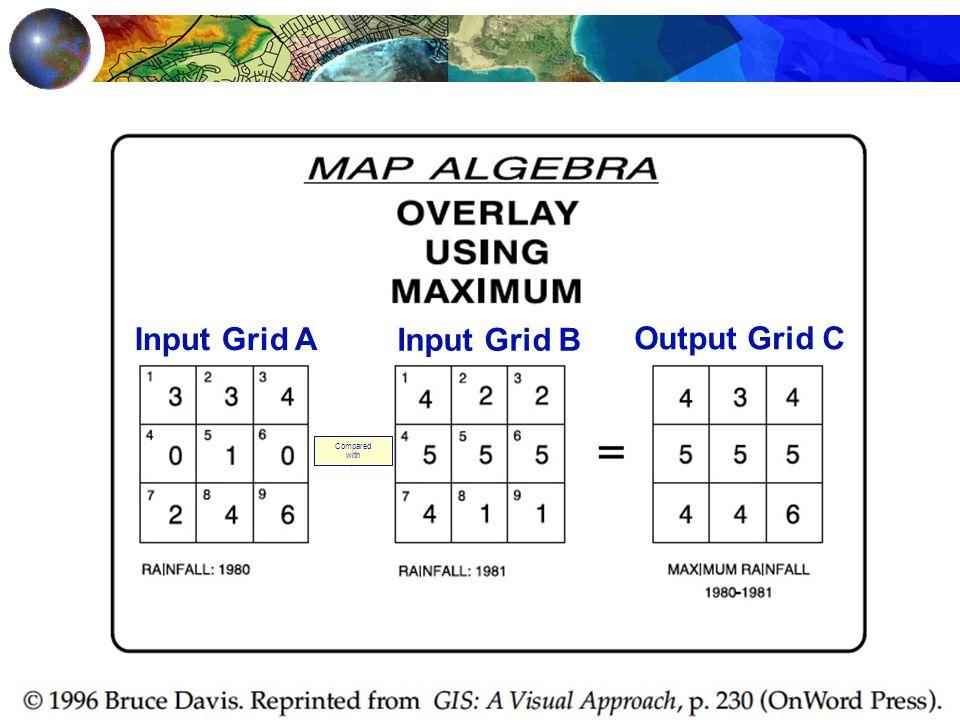 Input Grid A Input Grid B Output Grid C