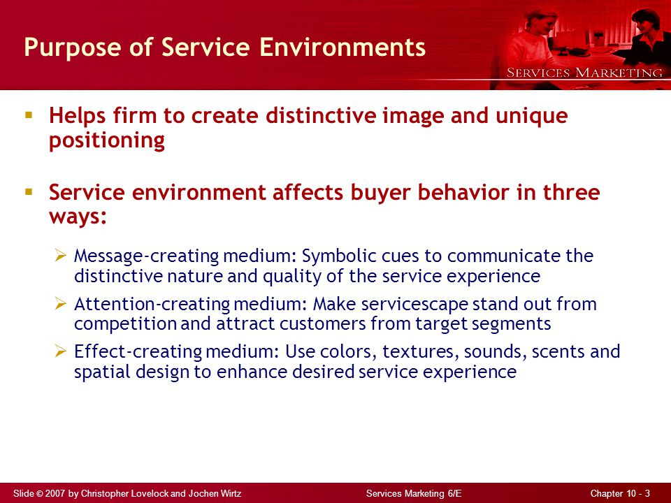 Purpose of Service Environments