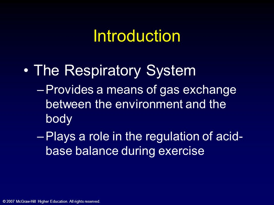 An introduction to respiratory gases