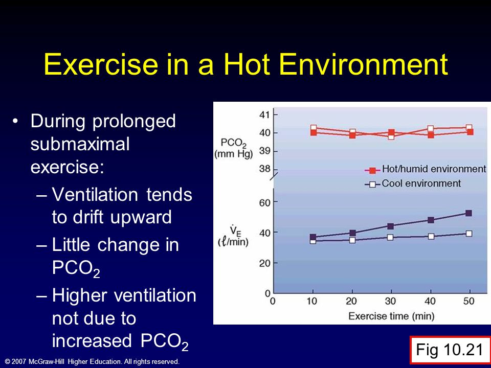 Exercise in a Hot Environment