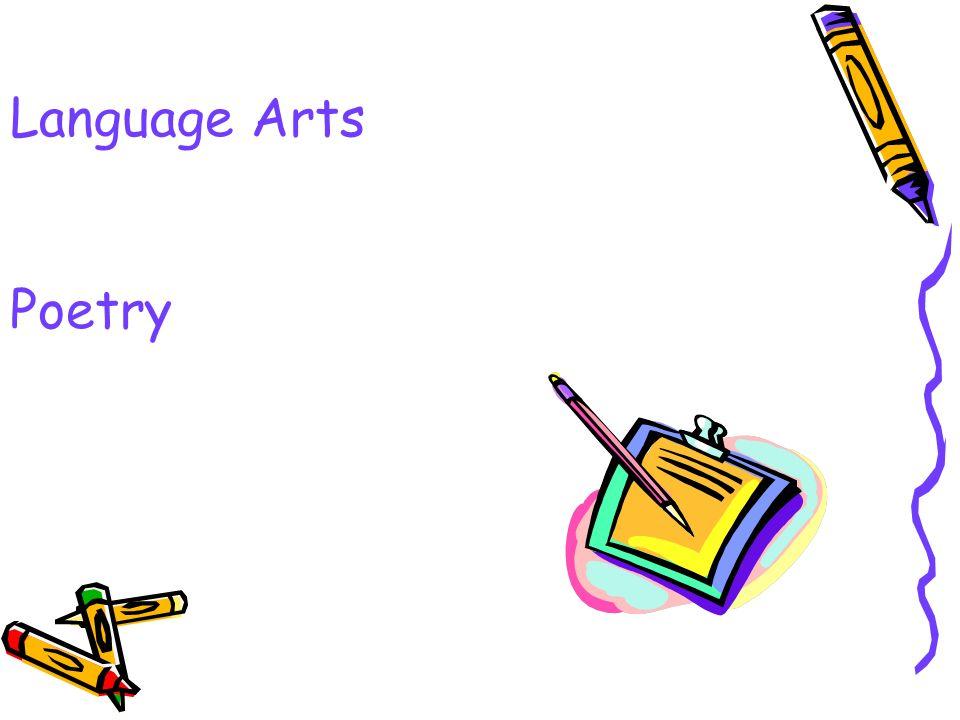 Language Arts Poetry