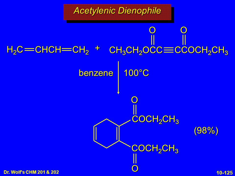 Acetylenic Dienophile