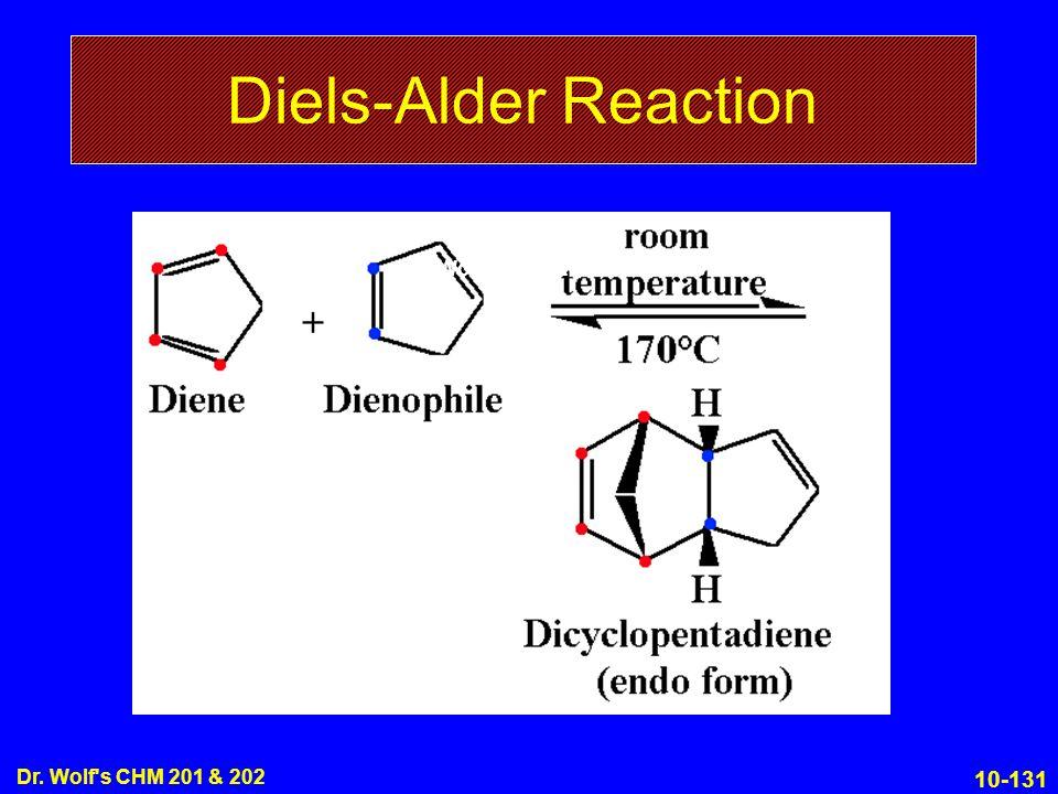 Diels-Alder Reaction Dr. Wolf s CHM 201 & 202 Dr. Wolf s CHM 201 & 202
