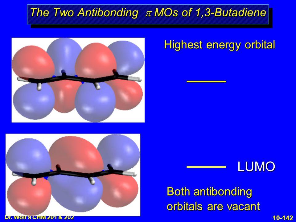 The Two Antibonding p MOs of 1,3-Butadiene