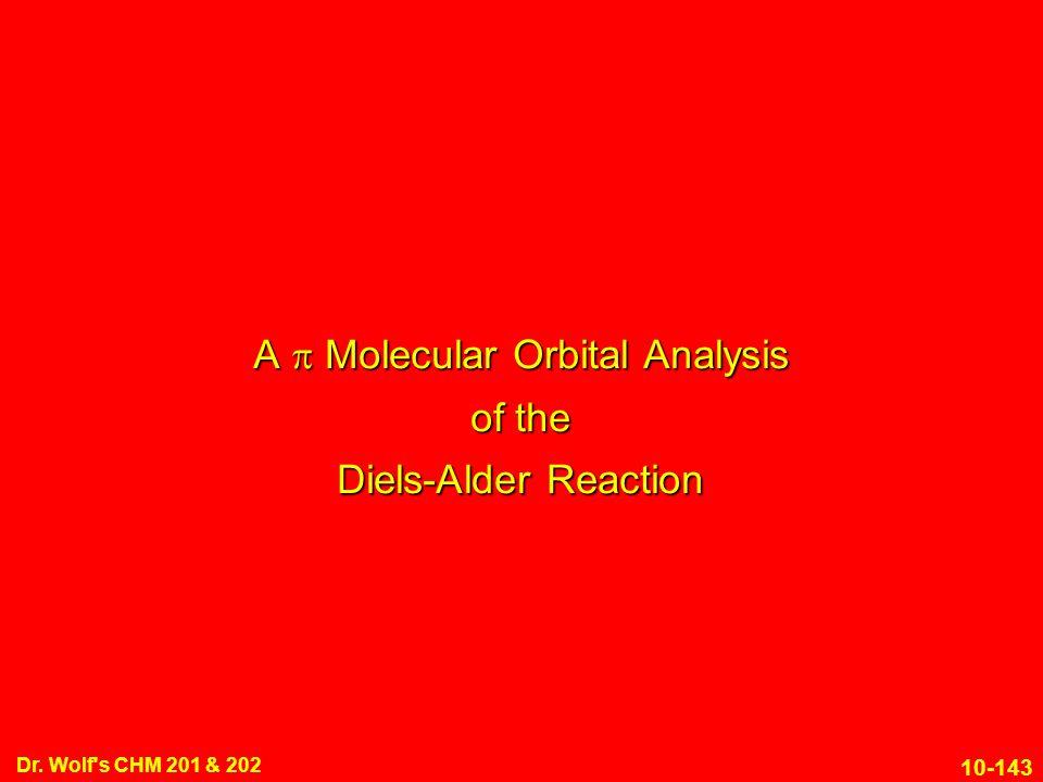 A p Molecular Orbital Analysis of the Diels-Alder Reaction