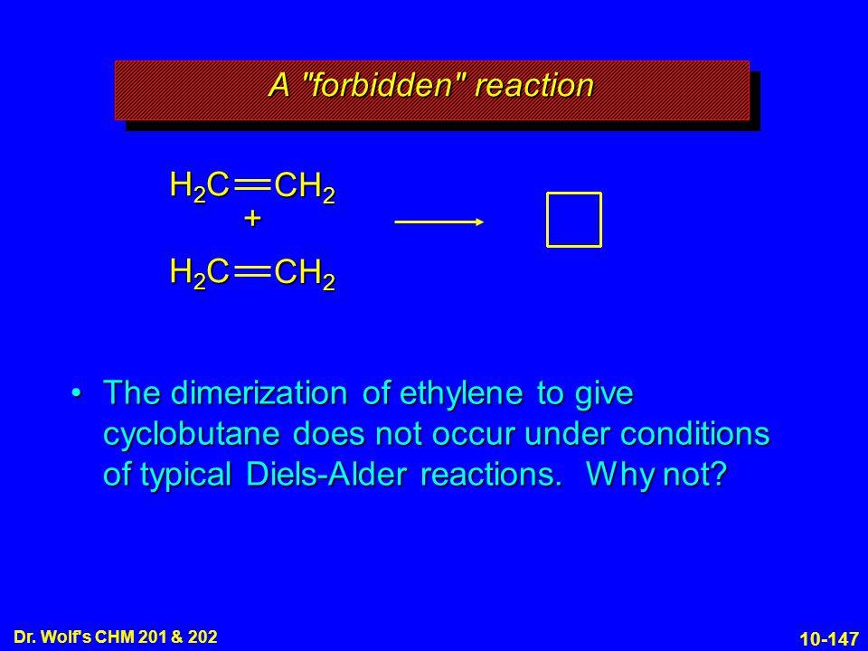 A forbidden reaction H2C CH2 + H2C CH2