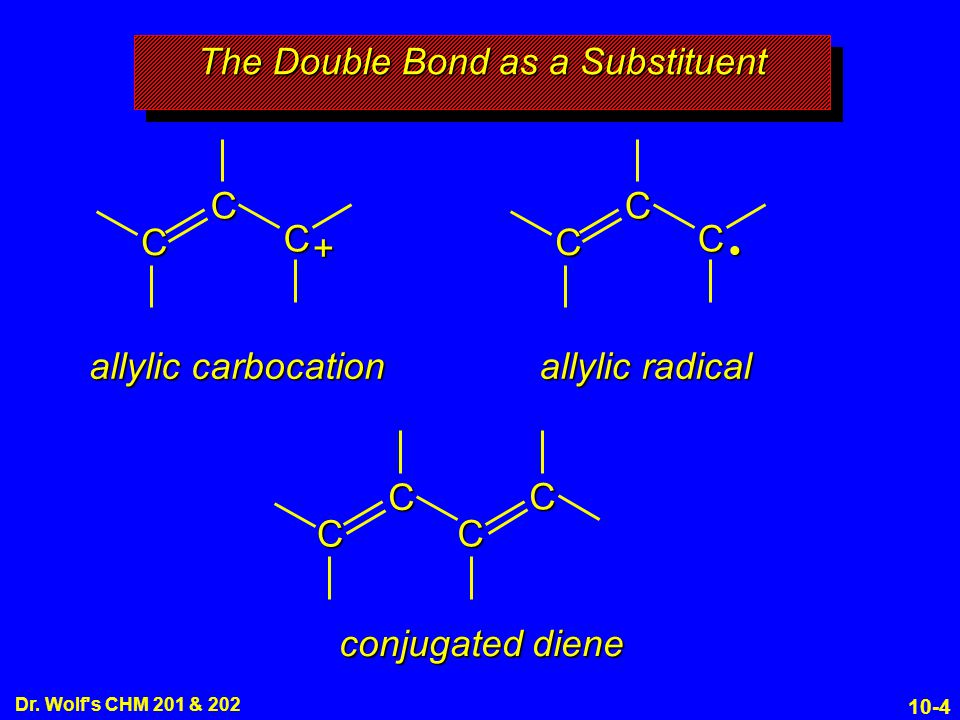 The Double Bond as a Substituent