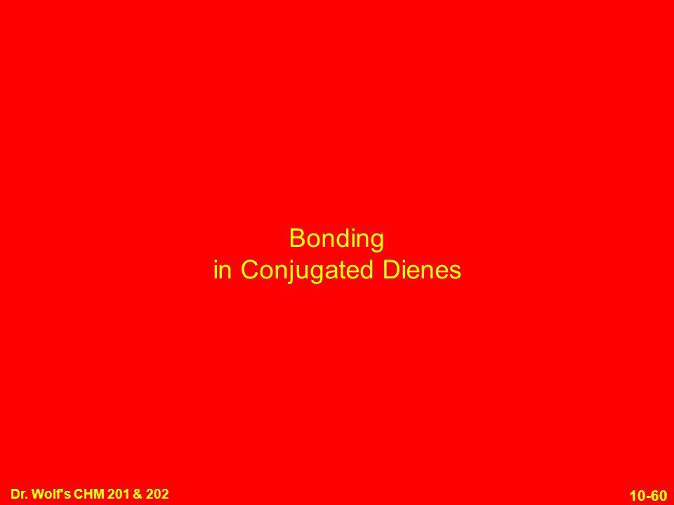 Bonding in Conjugated Dienes