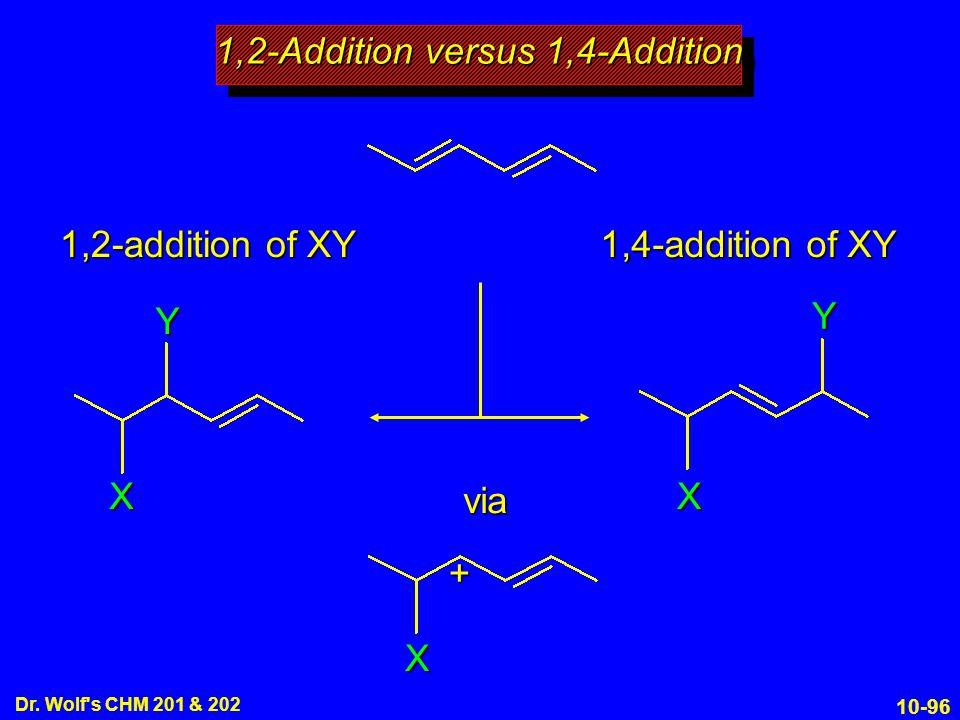 1,2-Addition versus 1,4-Addition