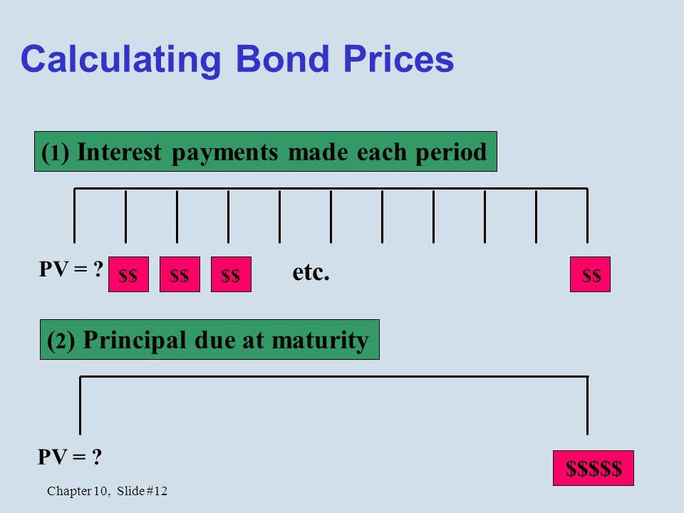 Calculating Bond Prices