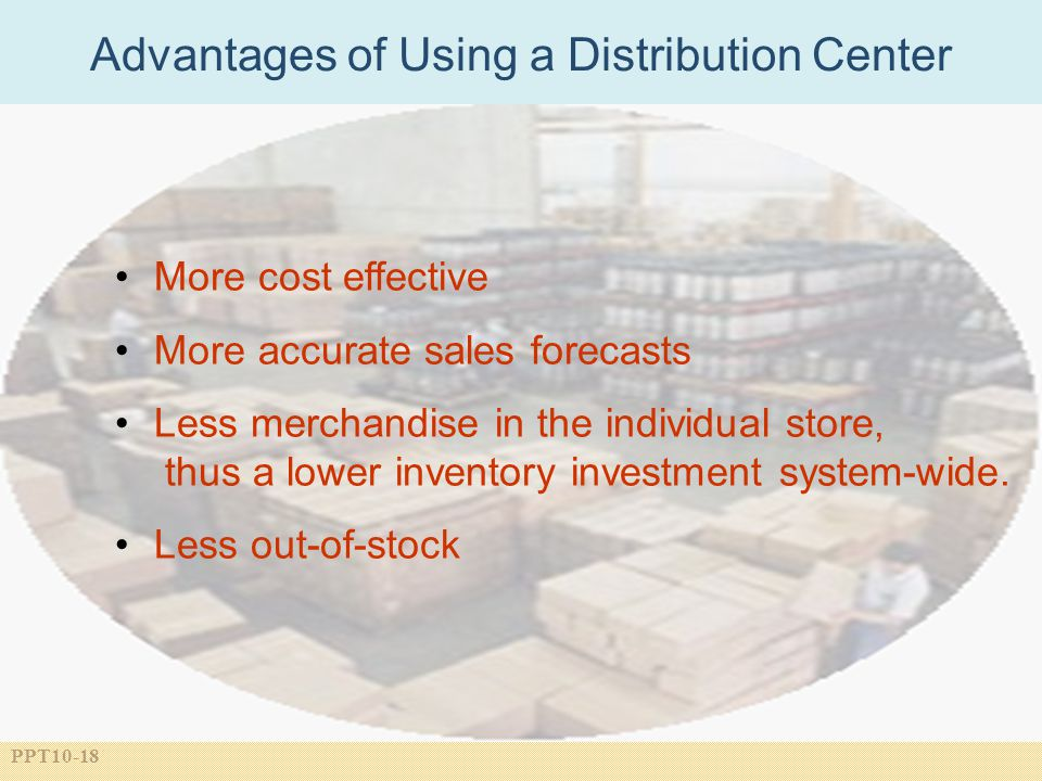 Advantages of Using a Distribution Center