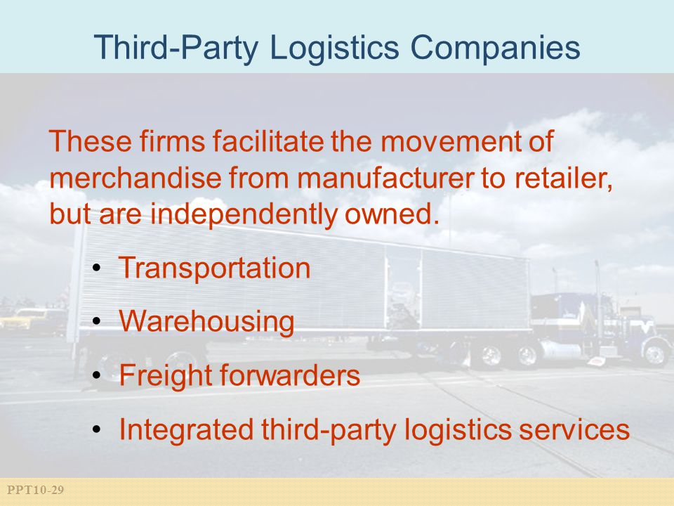 Third-Party Logistics Companies