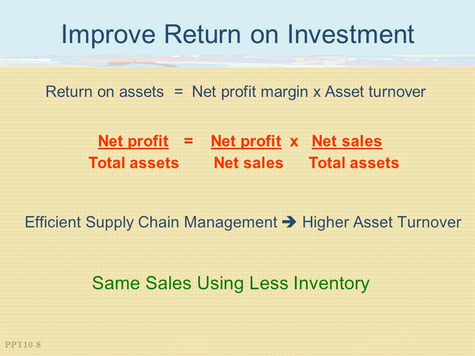 Improve Return on Investment