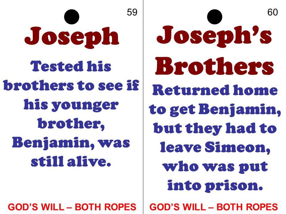 Joseph Joseph's Brothers