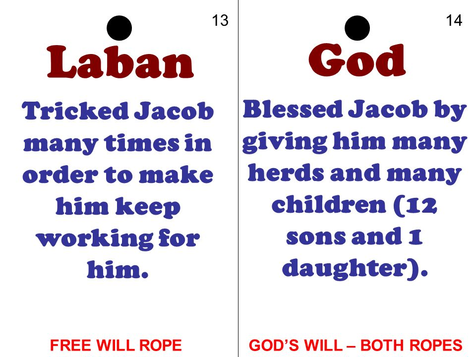 Tricked Jacob many times in order to make him keep working for him.