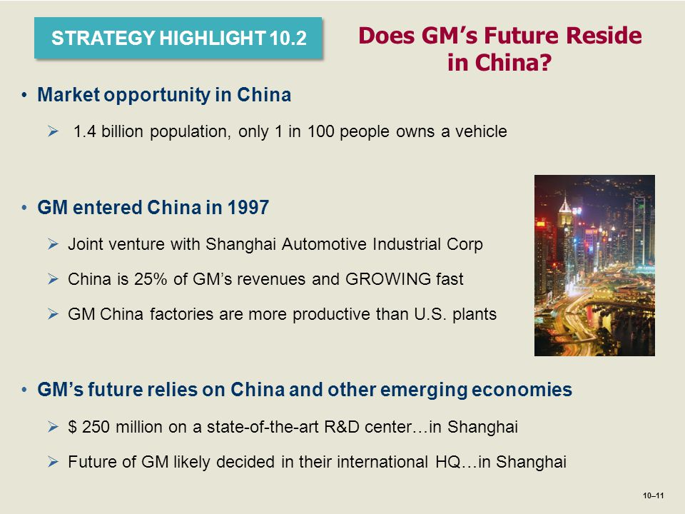 Does GM's Future Reside in China