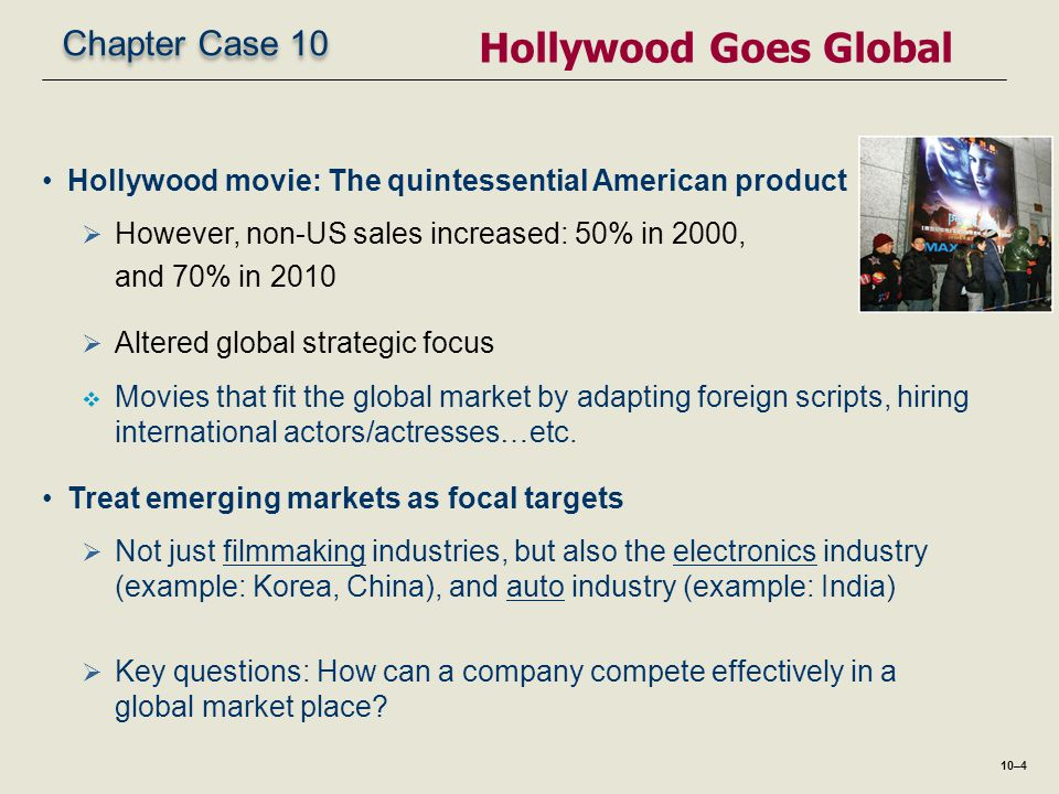 Hollywood Goes Global Chapter Case 10