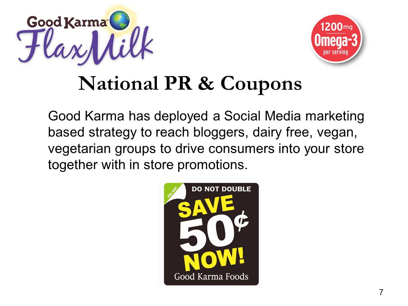 National PR & Coupons