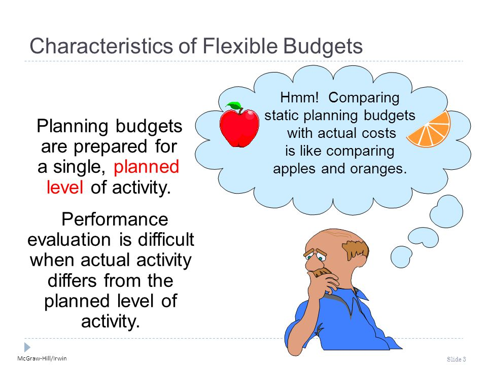 Characteristics of Flexible Budgets