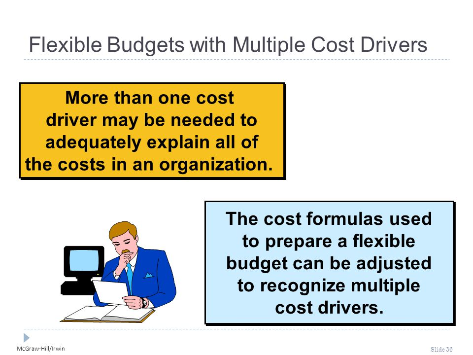 Flexible Budgets with Multiple Cost Drivers